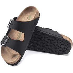 Birkenstock Arizona Sandals Birko-Flor Birkibuc Earthy Vegan Narrow black